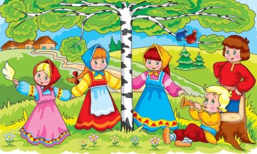 Новости из детского сада «Золотой петушок». Фольклор для малышей.