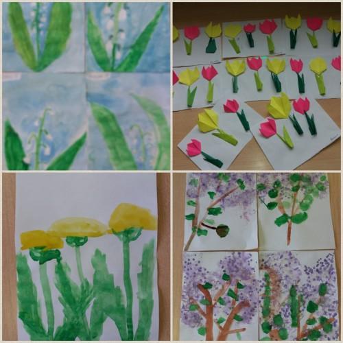Новости из детского сада «Золотой петушок».  Любой весенний цветок красив и прекрасен!